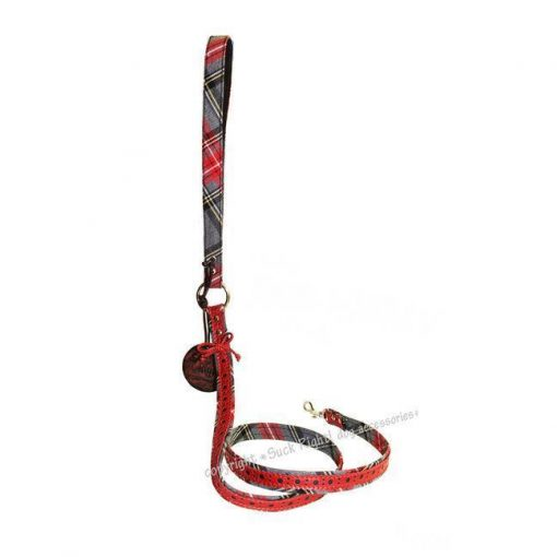 Red Sherlock Dog Leash