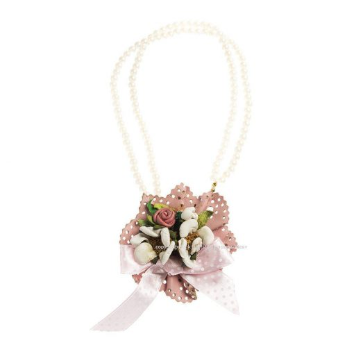 Spring Bouquet Dog Necklace